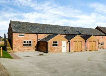 Thumbnail 4 bed barn conversion for sale in Wrexham Road, Ridley, Tarporley