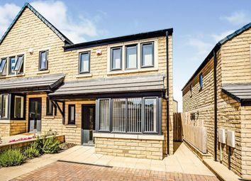 Thumbnail 3 bed semi-detached house to rent in Mill Rise, Cowlersley, Huddersfield