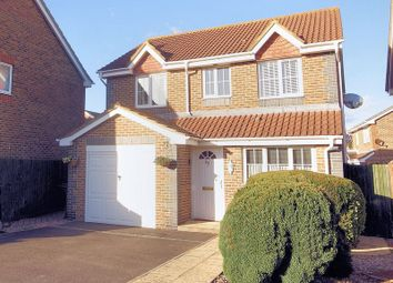 Thumbnail 3 bed detached house for sale in Howard Close, Lee-On-The-Solent