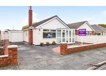 Thumbnail 2 bed detached bungalow for sale in Fairview Avenue, Weston, Crewe