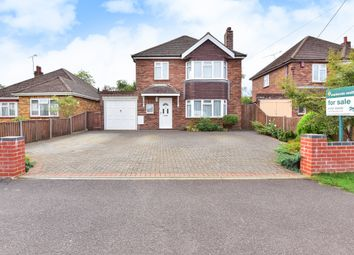 Thumbnail 3 bed detached house for sale in Hamesmoor Road, Mytchett, Camberley