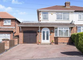 Thumbnail 3 bed semi-detached house for sale in Forest Rise, Thurnby, Leicester