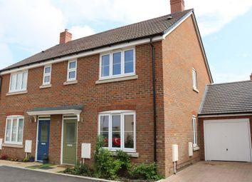 Thumbnail 3 bed semi-detached house for sale in Millway Furlong, Haddenham, Aylesbury
