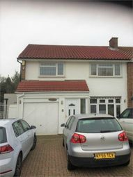 Thumbnail 3 bedroom semi-detached house to rent in Daylop Drive, Chigwell, Essex