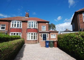 Thumbnail 2 bed semi-detached house to rent in Eastwood Gardens, Kenton, Newcastle Upon Tyne