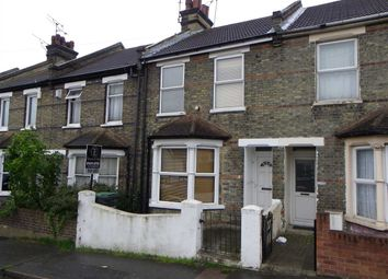 Thumbnail 3 bed terraced house to rent in Russell Road, Gravesend
