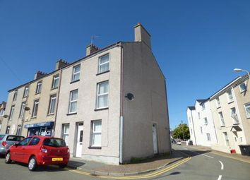 Thumbnail 4 bed end terrace house for sale in Thomas Street, Holyhead, Anglesey
