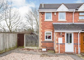 Thumbnail 2 bed end terrace house for sale in Marsdale Drive, Nuneaton