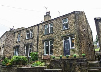 Thumbnail 3 bed semi-detached house for sale in Crimble Bank, Slaithwaite, Huddersfield