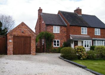 Thumbnail 3 bed semi-detached house for sale in Shute Hill, Chorley, Lichfield