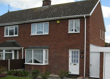 Thumbnail 3 bed semi-detached house to rent in Harlescott, Shrewsbury