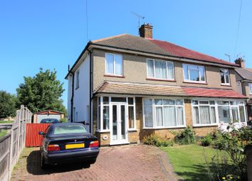 Thumbnail 3 bed semi-detached house for sale in Poynings Avenue, Southend-On-Sea