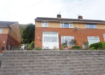 Thumbnail 3 bed semi-detached house for sale in Tribute Avenue, Cwmcarn, Newport, Caerphilly