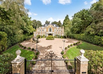 Thumbnail 7 bedroom detached house for sale in Virginia Water, Surrey