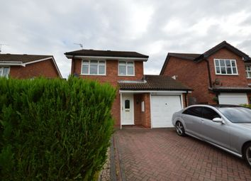 Thumbnail 3 bedroom detached house to rent in Turner Grove, Perton, Wolverhampton