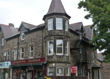 Thumbnail 1 bed flat to rent in Glebe Road, Harrogate