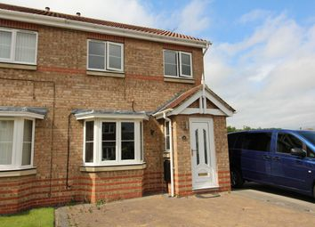 Thumbnail 3 bedroom semi-detached house for sale in Trinity Gardens, Willington, Crook