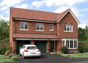 Thumbnail 5 bed detached house for sale in Heathlands, Hind Heath Road, Sandbach, Cheshire