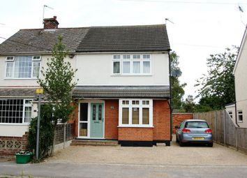 Thumbnail 3 bed semi-detached house for sale in Chapel Road, Tiptree, Colchester