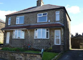 Thumbnail 3 bed semi-detached house for sale in New Park Road, Queensbury, Bradford