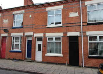 Thumbnail 3 bed terraced house to rent in Tudor Road, Leicester
