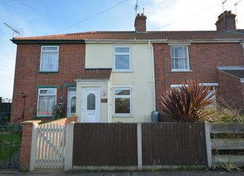 Thumbnail 2 bed terraced house for sale in Somerton Avenue, Lowestoft, Suffolk