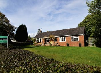 Thumbnail 3 bed bungalow for sale in Dicklow Cob, Lower Withington, Cheshire.