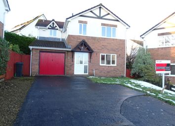 Thumbnail 4 bedroom detached house to rent in Waunbant Court, Clwydyfagwr