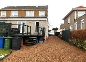 Thumbnail 2 bed semi-detached house to rent in Ledi Drive, Bearsden