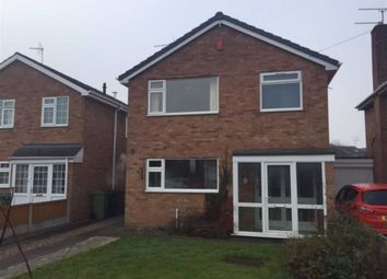 Thumbnail 3 bed detached house to rent in Heathfield Avenue, Stone