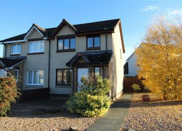 Thumbnail 3 bed semi-detached house for sale in 127, Castle Heather Drive, Inverness