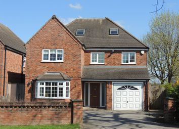 Thumbnail 5 bed detached house to rent in Tilehouse Green Lane, Knowle, Solihull