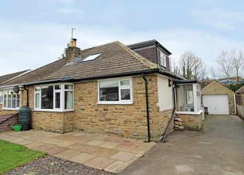 Thumbnail 4 bed semi-detached bungalow for sale in Church Avenue, Dacre Banks, Harrogate