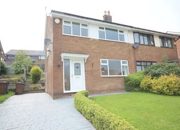 Thumbnail 3 bed semi-detached house to rent in Harewood Way, Norden Rochdale