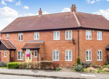 Thumbnail 3 bedroom terraced house for sale in Mileham Drive, Aylsham, Norwich