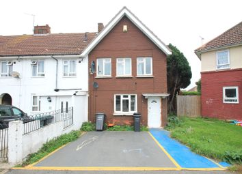 Thumbnail 3 bedroom end terrace house for sale in Hampton Crescent, Gravesend, Kent