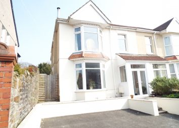 Thumbnail 4 bedroom semi-detached house for sale in 30 Carnglas Road, Sketty, Swansea