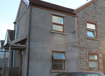 Thumbnail 1 bed end terrace house to rent in Brook Street, Barry