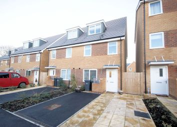 Thumbnail 3 bed semi-detached house for sale in Blanchard Avenue, Gosport