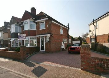 Thumbnail 3 bed semi-detached house for sale in Jasmond Road, Cosham, Portsmouth, Hampshire
