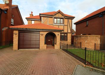 Thumbnail 4 bedroom detached house for sale in Woodcroft Gardens, Aberdeen