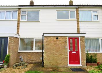 Thumbnail 3 bedroom terraced house to rent in Melbourne Close, Stotfold, Hitchin