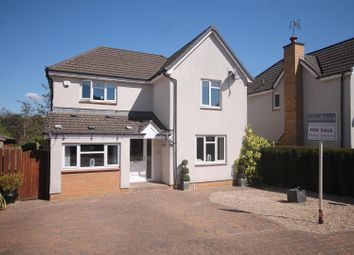 Thumbnail 4 bedroom detached house for sale in Viscount Gate, Bothwell, Glasgow