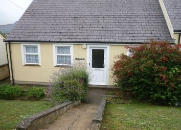 Thumbnail 2 bedroom semi-detached bungalow to rent in Precelly Crescent, Stop And Call, Goodwick