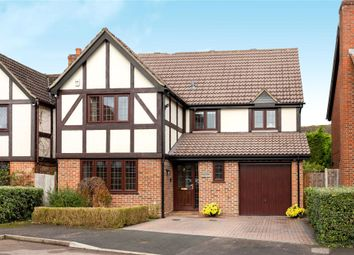 Thumbnail 4 bed detached house for sale in Munnings Drive, College Town, Sandhurst