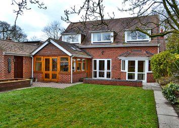 Thumbnail 4 bed detached house for sale in Park Lane, Sandbach