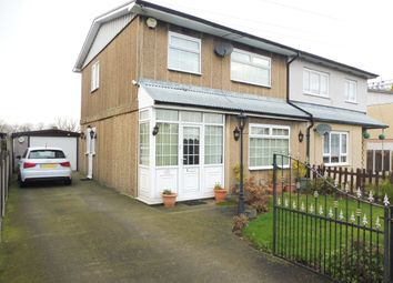 Thumbnail 3 bed semi-detached house for sale in Bly Road, Darfield, Barnsley, South Yorkshire
