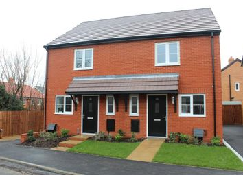 Thumbnail 2 bedroom semi-detached house for sale in Watermans Drive, Waterbeach, Cambridge