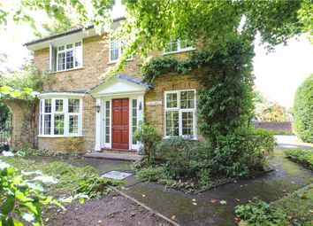 Thumbnail 4 bed detached house for sale in Branksomewood Road, Fleet