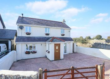 Thumbnail 4 bed detached house for sale in Brynford, Holywell